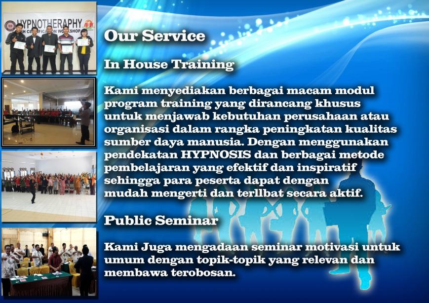 our service copy